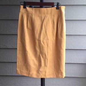 Dresses & Skirts - Designer gold skirt